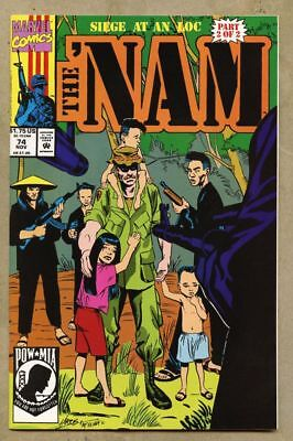 The 'Nam #74-1992 vf/nm 9.0 The Nam low print run later issue Marvel War