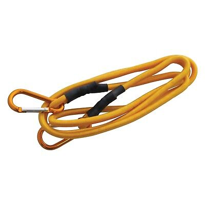 72 Inch Long Bungee Cord Strap Heavy Duty Spring Loaded Carabiner Clip Inch