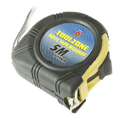 5M Tape Measure Top Quality Auto Lock Function Rubber Coated Case Professional