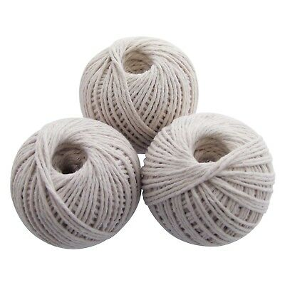 3Pc Cotton Twine Ball Garden String Household String Rope Good Quality