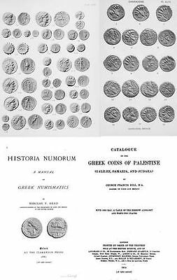 Collection (180+ books) of catalogs of Greek and Roman coins on DVD