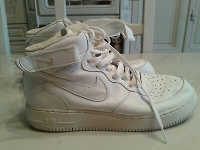 One Nike 1 On White 46 Air Basket Force Taille 0wvyN8Omn