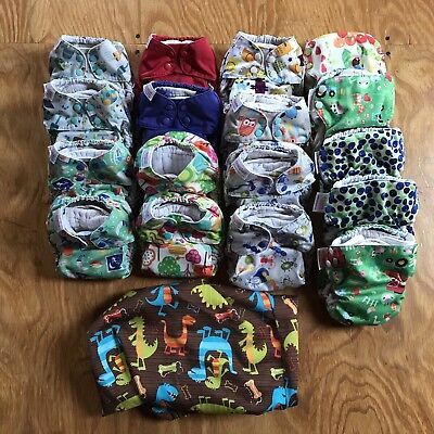 Huge Lot Of Blueberry Simplex All In One Cloth Diapers