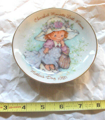 """Avon 5"""" Mother's Day decorative collectable plates 1981-1993"""