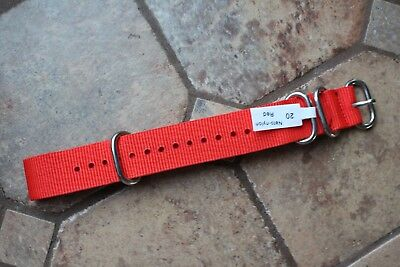 Nylon Nato Watch Strap Band Military Army SS. Buckle Spring Bars