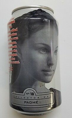 Diet Pepsi  12 oz. Empty Can - Star Wars, Episode I, #18 Padme
