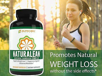 NaturaLean 100% Pure Garcinia Cambogia Extract *Weight Loss *Fat Blocker NEW