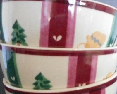 Pfaltzgraff Snow Bear Theme Set Of 2 Soup Bowls Mint Pre Owned Add To Your Set!