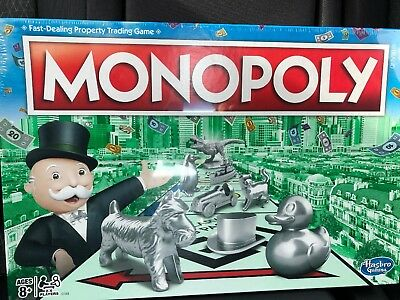 Monopoly The Classic Edition Traditional Family Fun Board Game NEW IN BOX