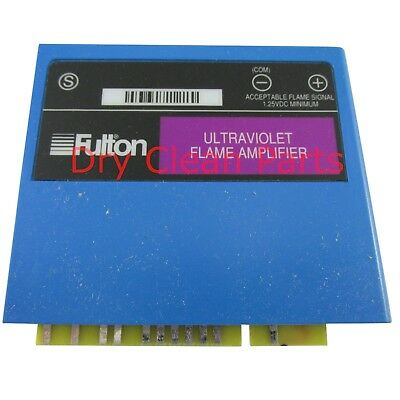 NEW Fulton UV Flame Amplifier 2-40-000273 for Dry Clean Laundry Machine