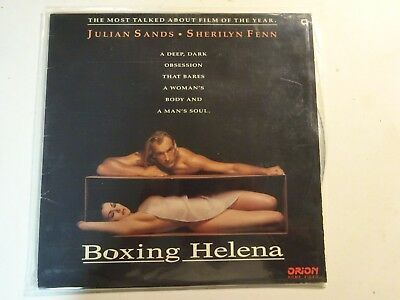 ORION HOME VIDEO BOXING HELENA Laserdisc Movie