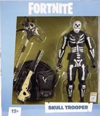 Fortnite Skull Trooper 7 inch Action Figure by McFarlane Toys In Hand