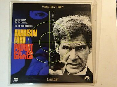 Patriot Games (Laserdisc, 1992) Widescreen