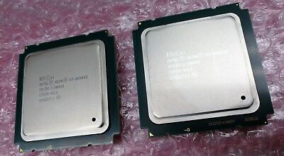 Matched pair of Intel Xeon E5-2696 v2 12-core 2.5Ghz Processors (SR19G)