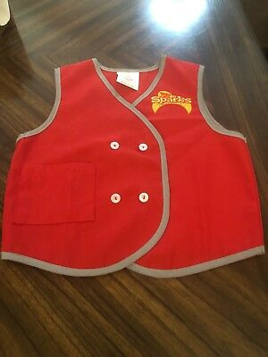 Awana Sparks Size Small Boy or Girl Church Bible Red Youth Vest new