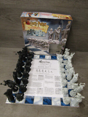 Harry Potter Wizard Chess Set 2002 Mattel 43533 Complete Verified Board Game