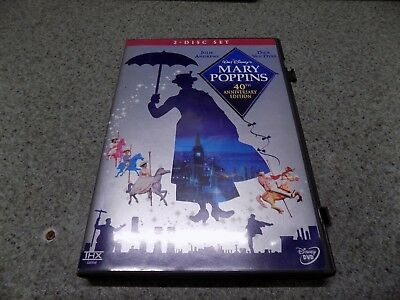 Mary Poppins 40th Anniversary Edition (DVD, 2004, 2-Disc Set)