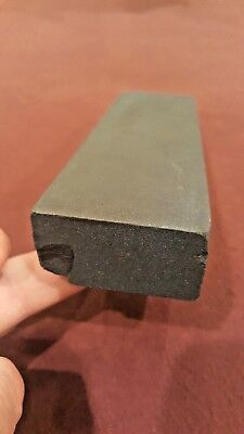 Nice vintage smooth knife razor sharpening hone stone / wet oil slate stone