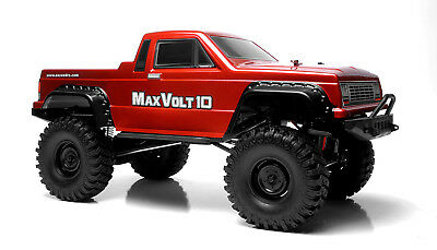 Exceed RC Rock Crawler Car1/10 Max Volt Electric RTR Waterproof Electronics Red