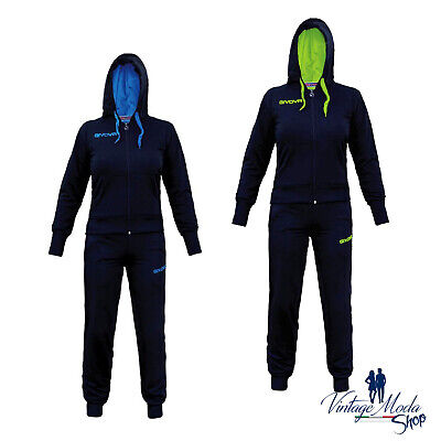 Tuta Givova Lady Suit Donna Zip Running Woman Sport Ginnastica