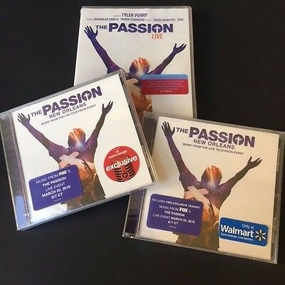 Fox's THE PASSION MEGA-PACK: DVD w/bookmark + TARGET & WALMART-EXCL. SOUNDTRACKS