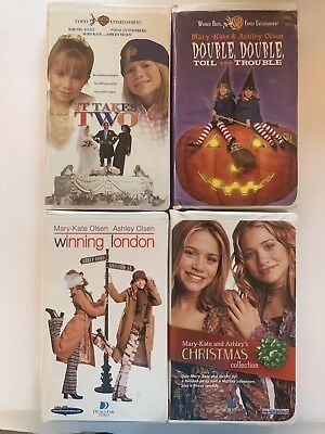mary kate and ashley movie lot 4 vhs movies it takes 2 london .