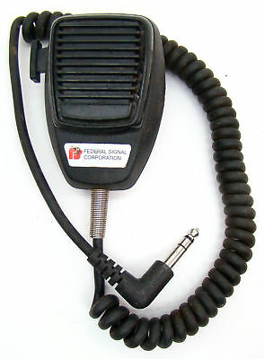 FEDERAL SIGNAL SIREN MICROPHONE MIC PA300 Smart Siren Delta Omega TouchMaster