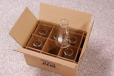 Corning PYREX Wide-Mouth Erlenmeyer Flasks 500ml case of 6