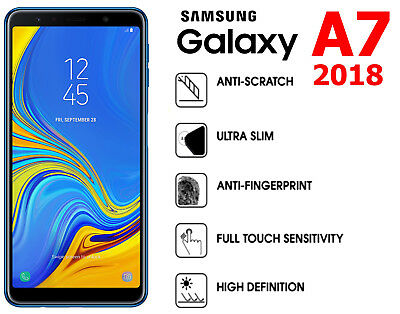Screen Protector Cover Guard Film For Samsung Galaxy A7 2018