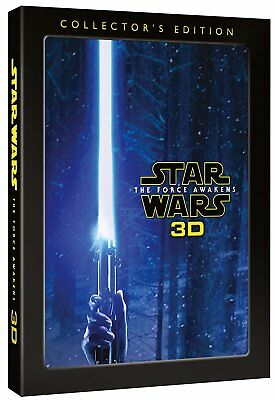 Star Wars: The Force Awakens 3D Collector's Edition (3D + 2D Blu-ray) *NEW*