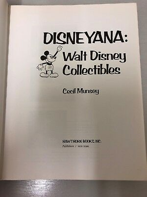 Disneyana: Walt Disney Collectibles 1974 First Edition. Mickey Mouse/Donald Duck