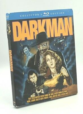 Darkman (Blu-ray Disc, 2014; Scream Factory Collector's Ed.) NEW w/ Slipcover