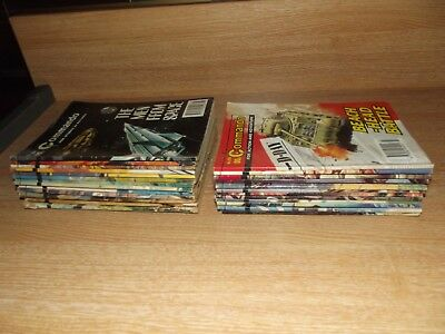 26 x Commando Comic; War Stories All Listed 1970's onwards