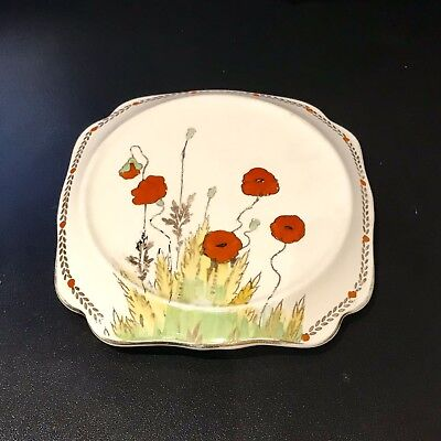Crown Ducal Poppy Art Deco Teapot Stand