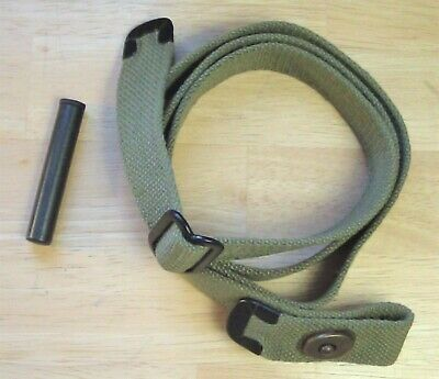 USGI WWII .30 M1 CARBINE OD SLING and OILER New