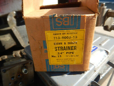 B&s Brown And Sharpe 713-9003-13 No. 13 Strainer