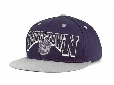 competitive price fb241 1f62a Georgetown Hoyas Top of the World NCAA Old Arch Adjustable Snapback Cap Hat
