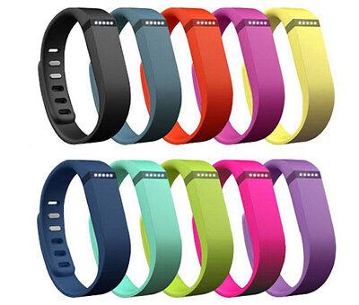 Large/ Small Replacement Wrist Band w/Clasp For Fitbit Flex Bracelet