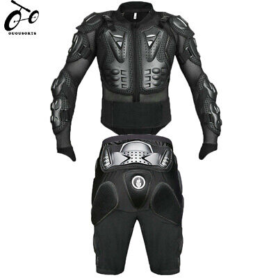 Motocross Motorcycle Protection Pads Shorts Sport Pants Hip Bum Armour Jacket