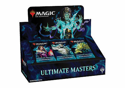 MAGIC The Gathering MTG Preorder ULTIMATE MASTERS BOOSTER BOX SEALED 25 Packs