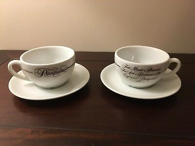 Pasquini Cup & Suacer (set of 2)