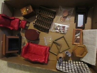 Large Selection DOLL HOUSE FURNITURE& Acces. LOT