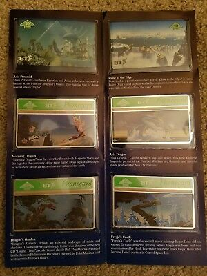 Collectible BT Phonecards Set - Roger Dean's Magnetic storm