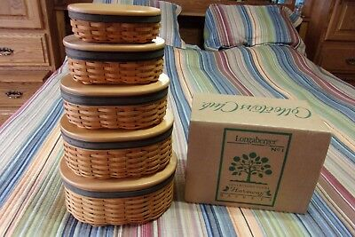 Longaberger Collectors Club Harmony lot