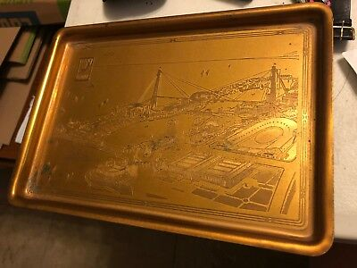 "1933 Chicago Worlds Fair ""A Century of Progress"" Souvenir Dish - see pictures"