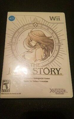 Original Box Case for THE LAST STORY w/ Manual Nintendo Wii