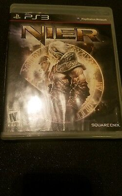 PS3 nier case and manual only NO DISC