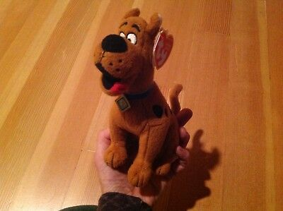 TY BEANIE BABIES SCOOBY DOO PLUSH With Tag Proceeds Feed 15 Rescue Horses Hay