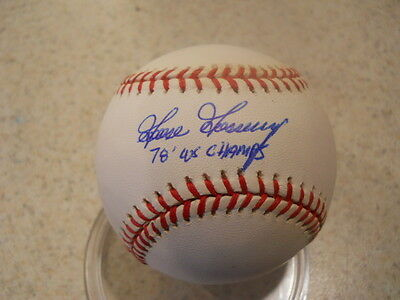 Goose Gossage Chicago, New York, San Diego signed 78 WS Champs American LB /COA