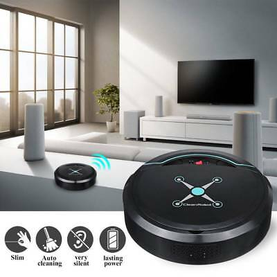 Rechargeable Automatic Smart Robot Vacuum Floor Cleaner Suction Dust Sweeper